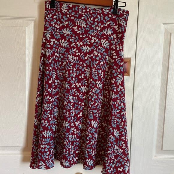 NWT - LuLa Roe Azure Skirt - S